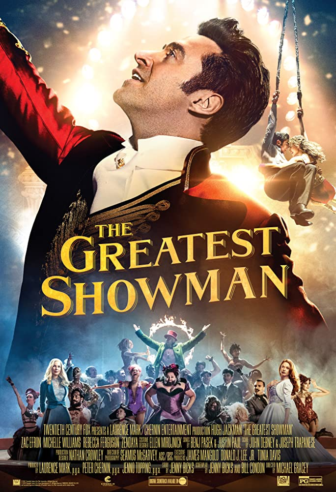 The Greatest Showman (2017) Subtitle Indonesia