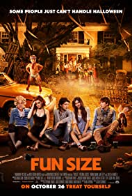Victoria Justice, Jackson Nicoll, and Jane Levy in Fun Size (2012)