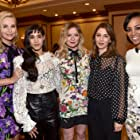 Charlize Theron, Kirsten Dunst, Sofia Coppola, Shaun Robinson, and Sofia Boutella at an event for Atomic Blonde (2017)