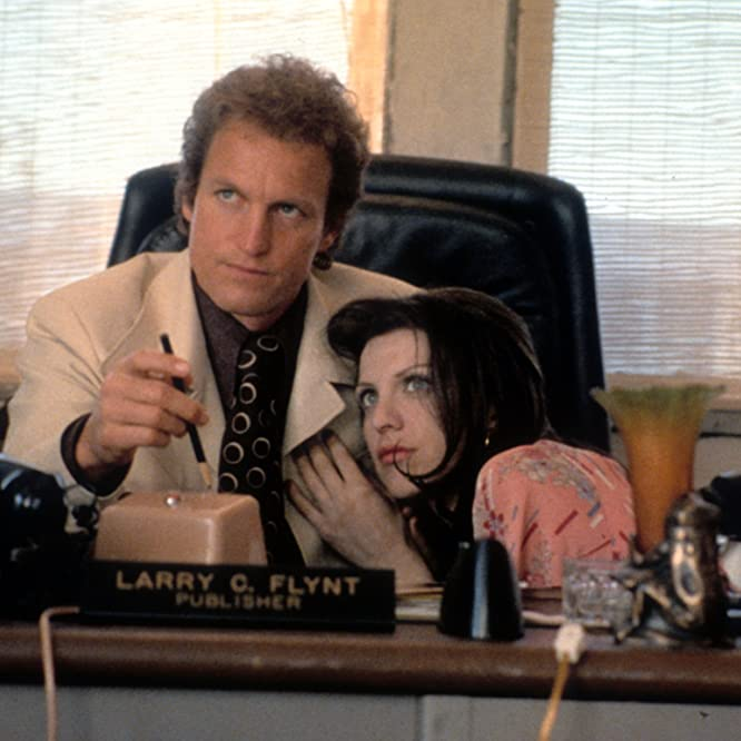 Woody Harrelson and Courtney Love in The People vs. Larry Flynt (1996)