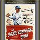 Jackie Robinson and Minor Watson in The Jackie Robinson Story (1950)
