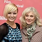 Blythe Danner and Malin Akerman at an event for I'll See You in My Dreams (2015)