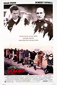 Robert Duvall and Sean Penn in Colors (1988)