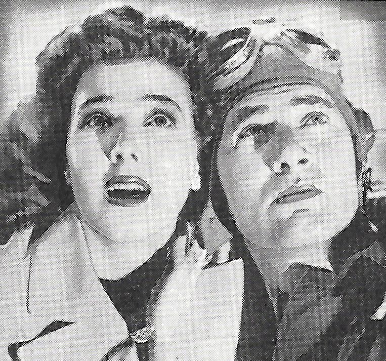 Richard Arlen and Jean Parker in Power Dive (1941)