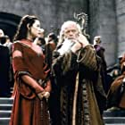 Julianna Margulies and Michael Byrne in The Mists of Avalon (2001)