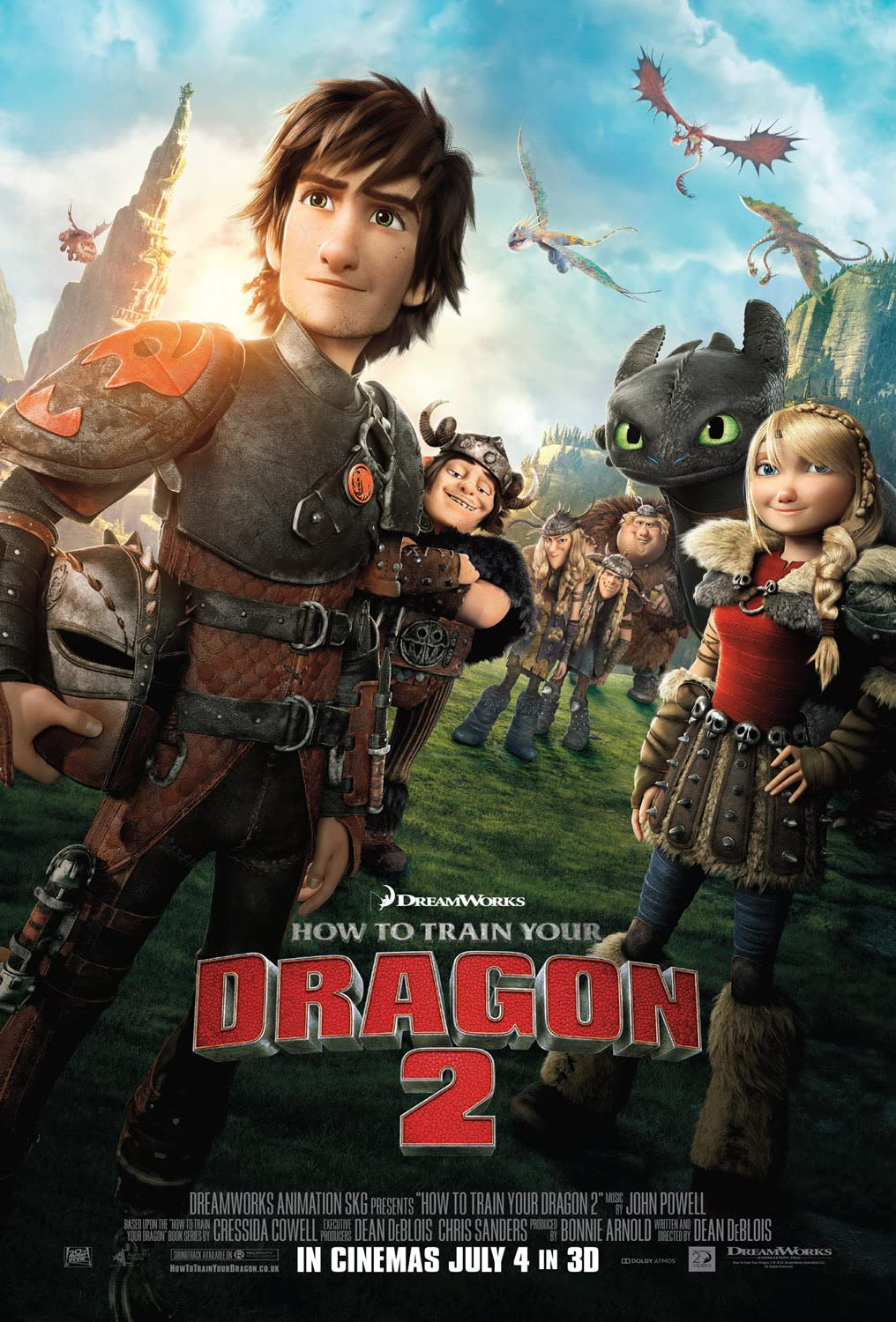 How to Train Your Dragon 2 (2014) in Hindi