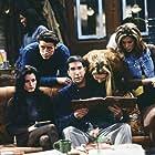 Jennifer Aniston, Courteney Cox, Lisa Kudrow, Matt LeBlanc, and David Schwimmer in Friends (1994)