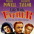 Elizabeth Taylor, William Powell, and Jimmy Lydon in Life with Father (1947)