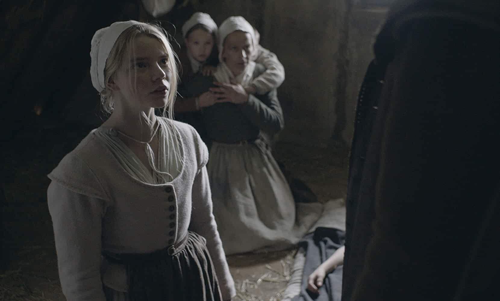 Kate Dickie, Ellie Grainger, and Anya Taylor-Joy in The VVitch: A New-England Folktale (2015)