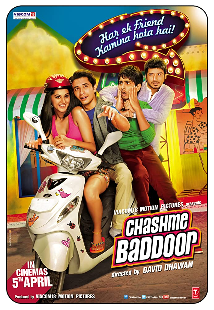 Chashme Baddoor (2013) Hindi 720p BluRay 780MB