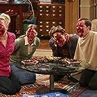 Mayim Bialik, Kaley Cuoco, Johnny Galecki, and Jim Parsons in The Big Bang Theory (2007)