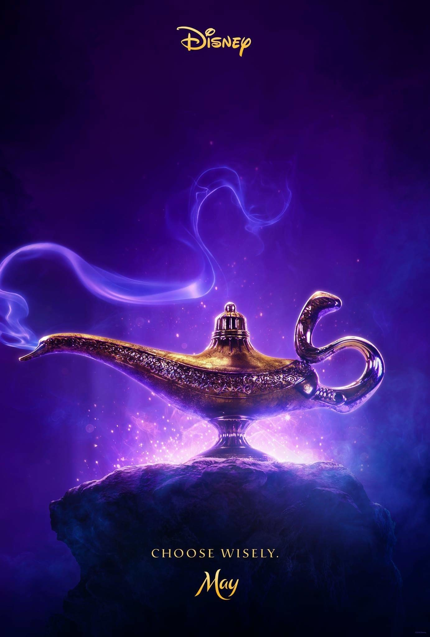 Image result for aladdin 2019 movie poster