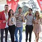 Onset It Happened One Valentine's with James Maslow, Haley Webb, Tommy Savas, and Brittany Underwood.