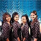 Deborah Mailman, Jessica Mauboy, Miranda Tapsell, and Shari Sebbens in The Sapphires (2012)