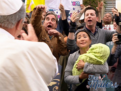 Beau Bridges and Sean Hayes in The Millers (2013)