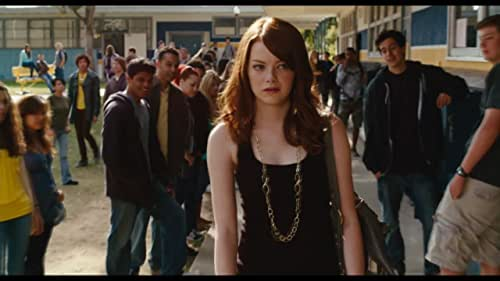 A clean-cut high school student relies on the school's rumor mill to advance her social and financial standing.