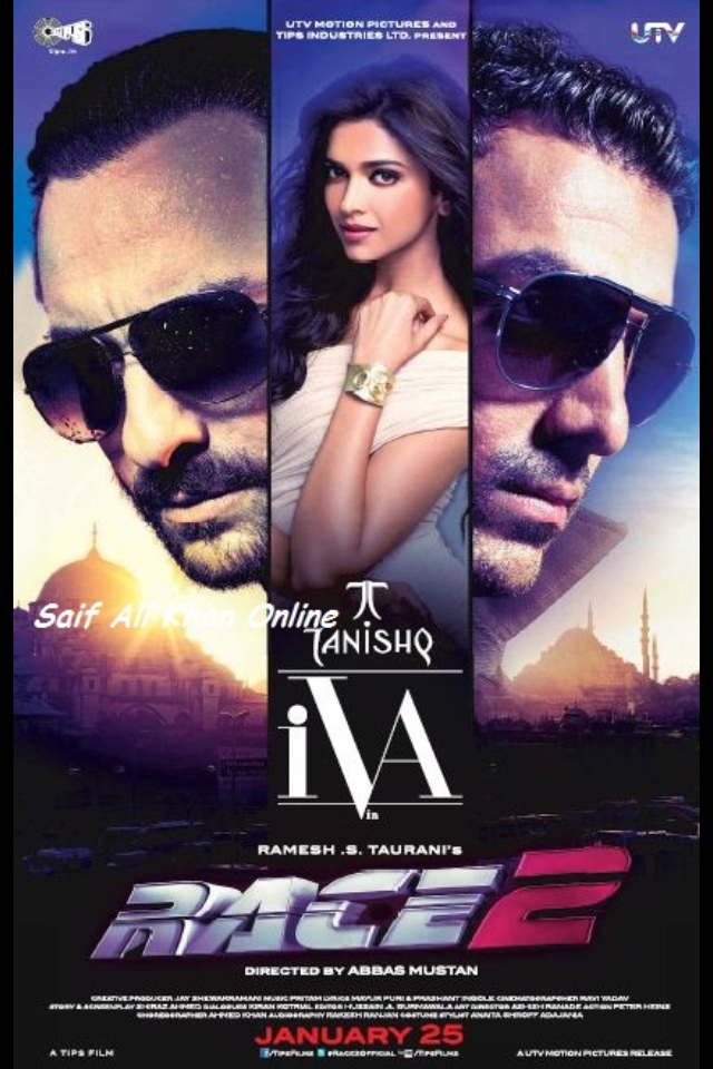 Race 2 (2013) – BD25 Bluray -AVC-DTS HD 5.1-DD 5.1 Hindi Audio – DusIcTv | G- Drive | 22.2 GB |
