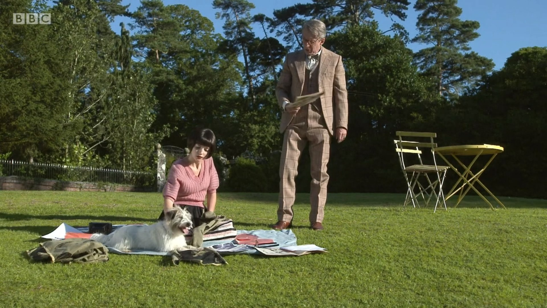 Stephen Boxer and Flora Spencer-Longhurst in Father Brown (2013)