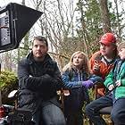 "Erin Pitt on set "" Against the Wild"""