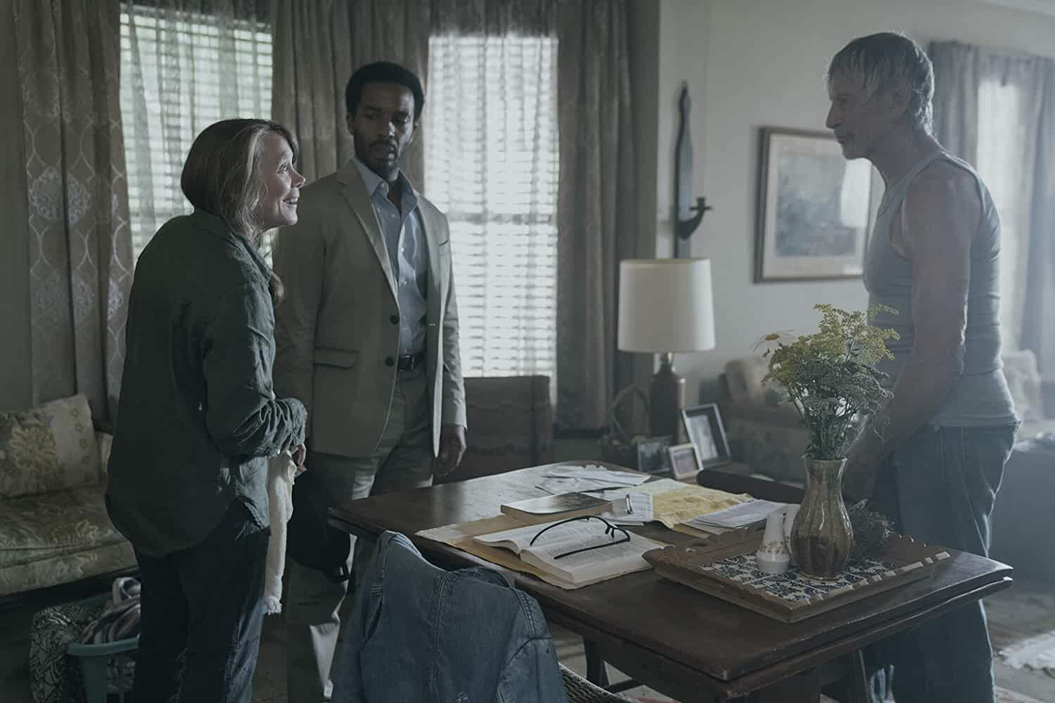 Sissy Spacek, Scott Glenn, and André Holland in Castle Rock (2018)