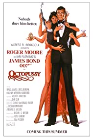 Roger Moore and Maud Adams in Octopussy (1983)