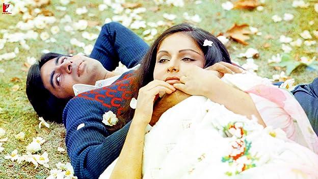 Amitabh Bachchan and Rakhee Gulzar in Kabhie Kabhie (1976)