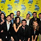 Chris Marquette, Abigail Spencer, Todd Feuer, Kwesi Collisson, Walter Strafford, Brian Geraghty, Ruth Mutch, Mike Feuer, Tim Chonacas, Jason Michael Berman, and Kevin Stanford at an event for Kilimanjaro (2013)