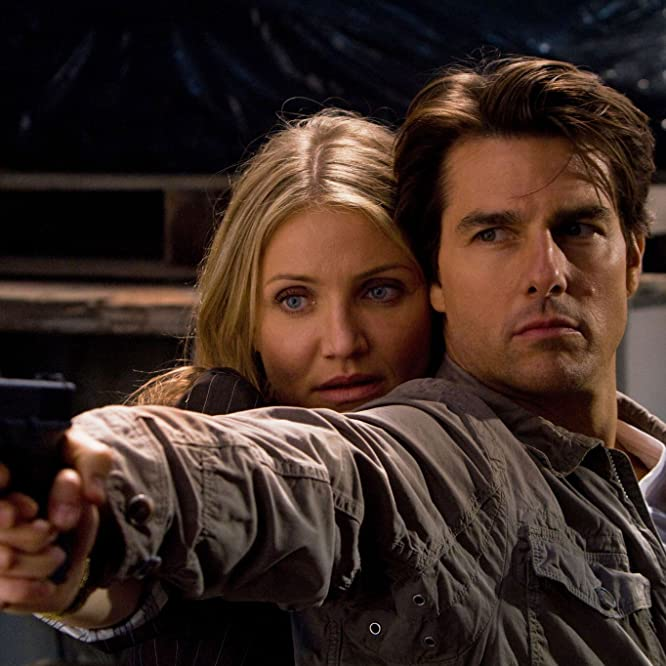 Tom Cruise and Cameron Diaz in Knight and Day (2010)