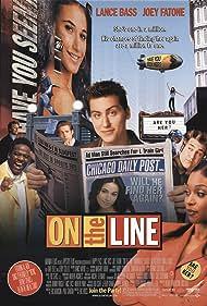 Lance Bass, Emmanuelle Chriqui, Joey Fatone, Tamala Jones, and Al Green in On the Line (2001)