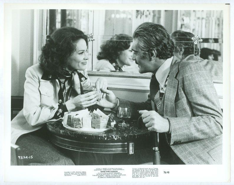 Karen Black and Omar Sharif in Ace Up My Sleeve (1976)
