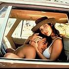Gael García Bernal and Maribel Verdú in Y tu mamá también (2001)