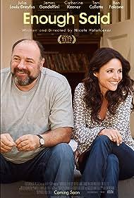 Julia Louis-Dreyfus and James Gandolfini in Enough Said (2013)