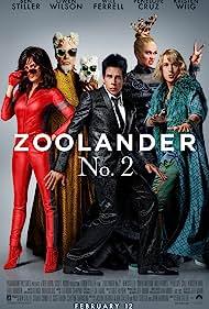 Ben Stiller, Will Ferrell, Penélope Cruz, Owen Wilson, and Kristen Wiig in Zoolander 2 (2016)