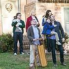 Robin Williams, Candice Bergen, Clark Duke, Lauren Graham, Joel McHale, and Pierce Gagnon in A Merry Friggin' Christmas (2014)