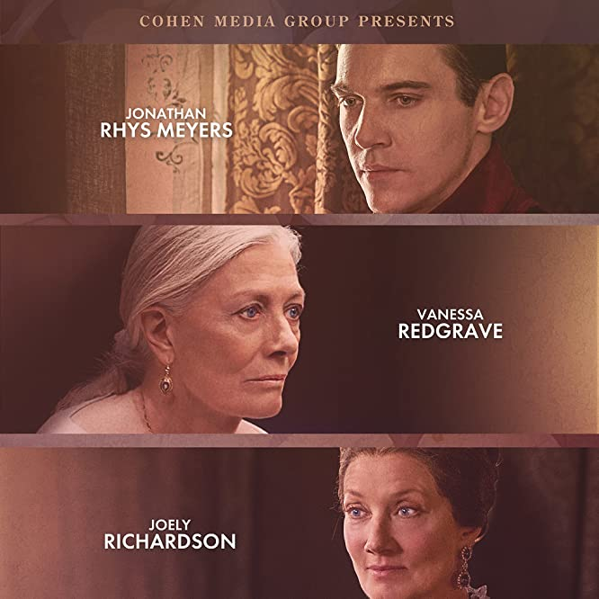Vanessa Redgrave, Joely Richardson, and Jonathan Rhys Meyers in The Aspern Papers (2018)