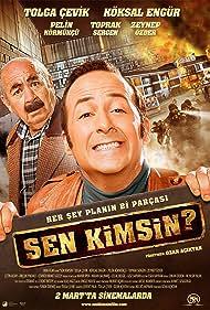 Tolga Çevik and Köksal Engür in Sen Kimsin? (2012)