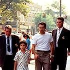 Robert De Niro, Francis Capra, Phil Foglia, and Mitch Kolpan in A Bronx Tale (1993)