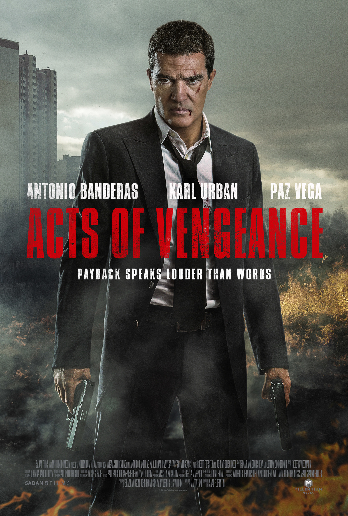 Poster film Acts of Vengeance.