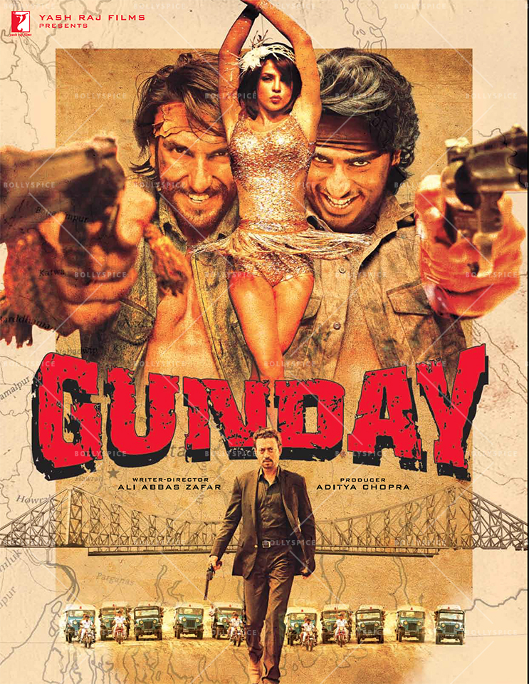 Gunday (2014) Hindi Full Movie 480p, 720p, 1080p Ture BlueRay GDrive Download & Watch Online