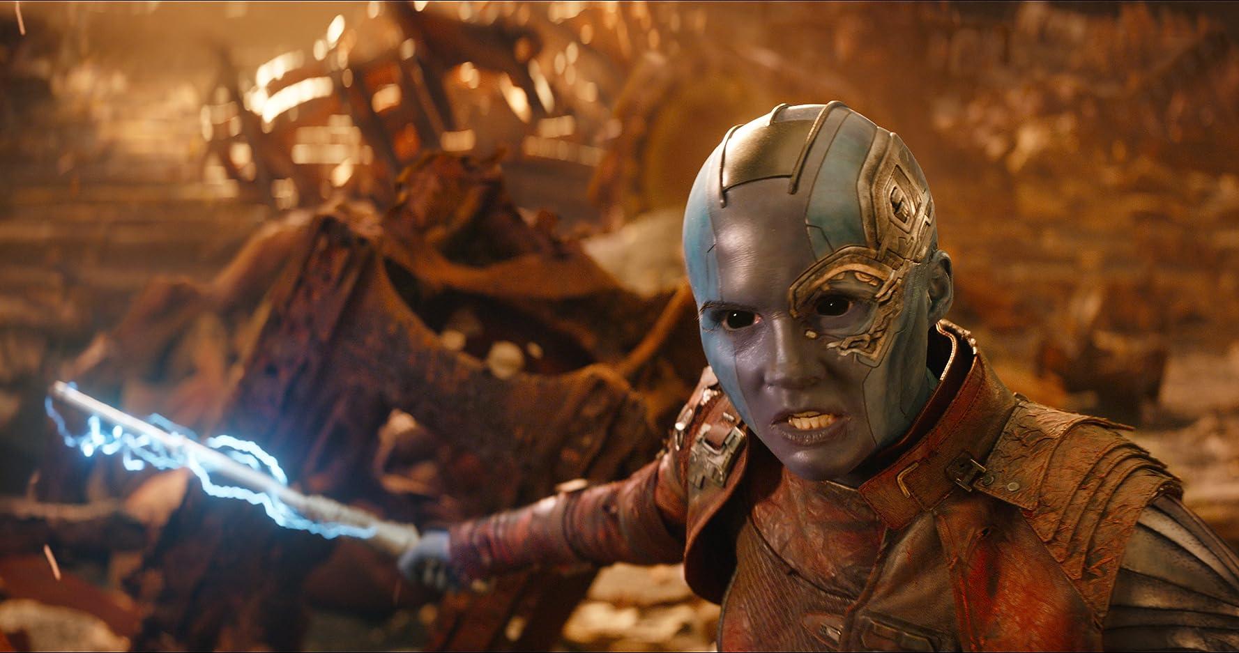 Karen Gillan in Avengers: Infinity War (2018)