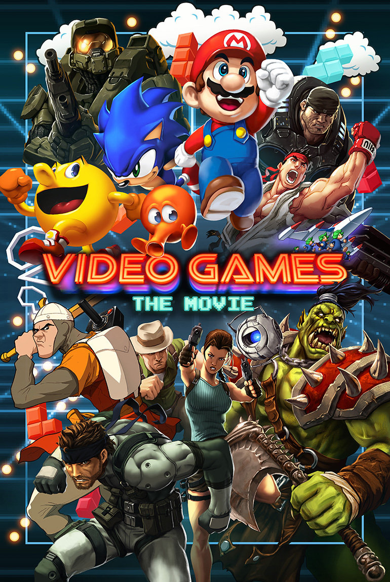 Video Games The Movie Full Movie