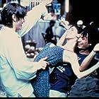 Gael García Bernal, Diego Luna, and Maribel Verdú in Y tu mamá también (2001)