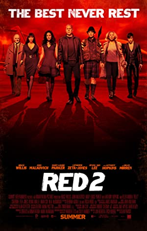 Where to stream RED 2