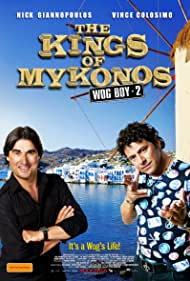 Vince Colosimo and Nick Giannopoulos in The Kings of Mykonos (2010)