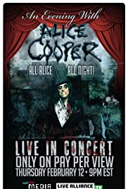 An Evening with Alice Cooper Poster