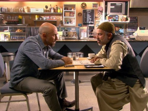 Carlo Rota and Manoj Sood in Little Mosque on the Prairie (2007)