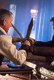 James Frain and Sean Pertwee in Gotham (2014)