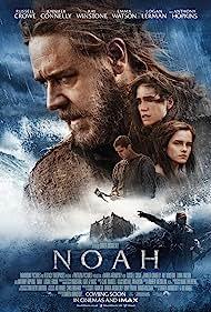 Jennifer Connelly, Russell Crowe, Logan Lerman, and Emma Watson in Noah (2014)