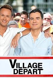 Village départ Poster