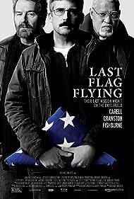 Laurence Fishburne, Steve Carell, and Bryan Cranston in Last Flag Flying (2017)